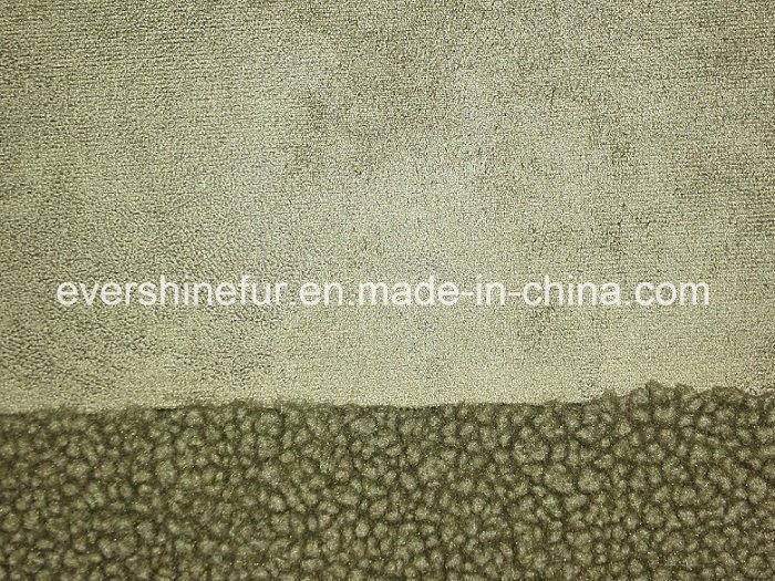 Bonding Fur Fabric Curly Fur Fake Fur Faux Fur Artificial Fur for Garment