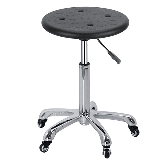 Round PU Salon Stool for Wholesale Zc20