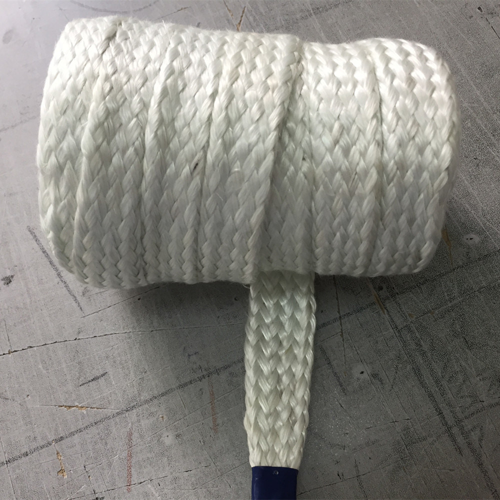 Thermal Insulating Wire Cable Hose Protection Braided Fiberglass Sleeve