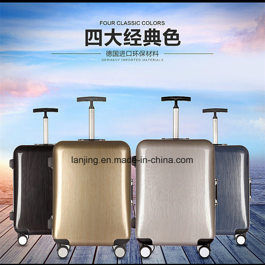 Bw1-054 ABS Aluminium Trolley Bag and Suitcase Cabin Simplex Luggage
