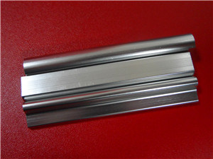 6063t5 Bright Anodised Natural Color Aluminium Extrusion Profile