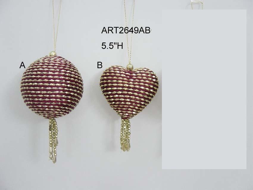 Christmas Tree Decoration Gift Balls-3asst