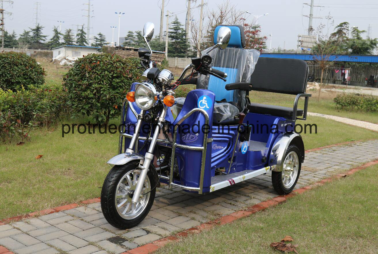 110cc Handicapped Rickshaw with Air-Cooling