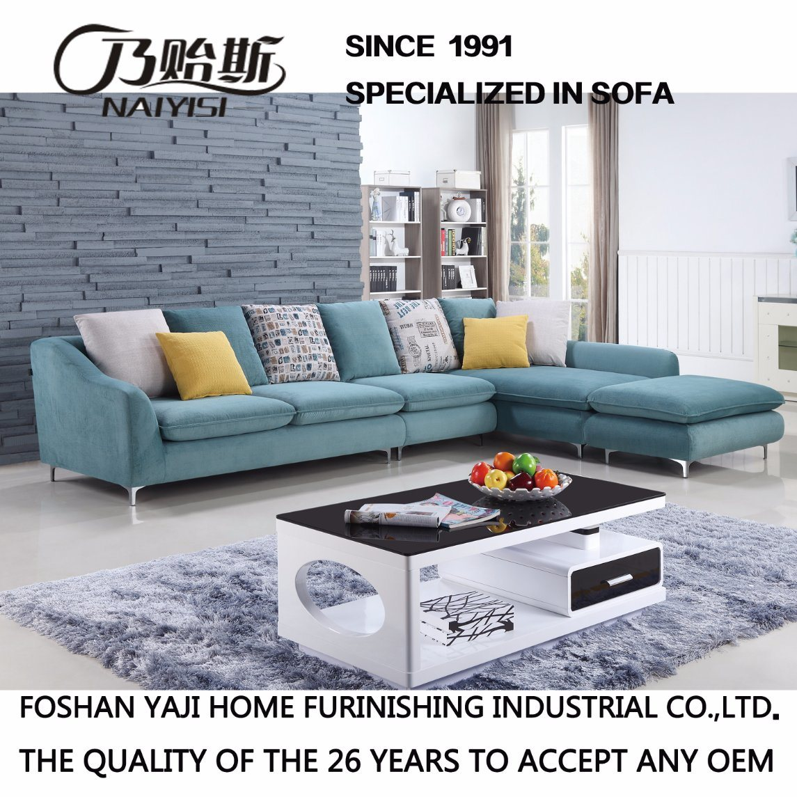 Best Price Modern Furniture Sofa for Living Room (FB1105)