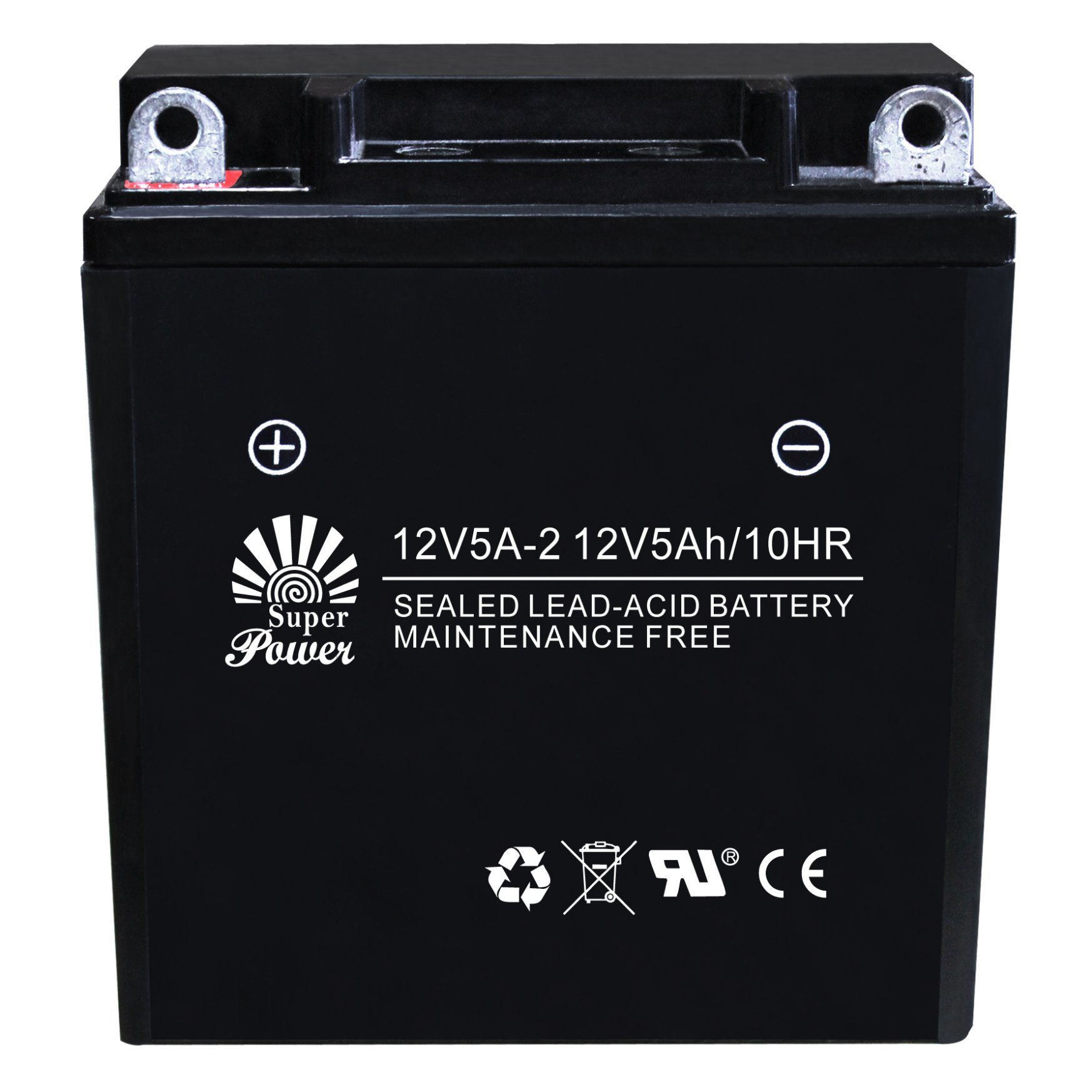VRLA Motorcycle Battery 12V 5ah with CE UL Certificate Called 12V5A-2