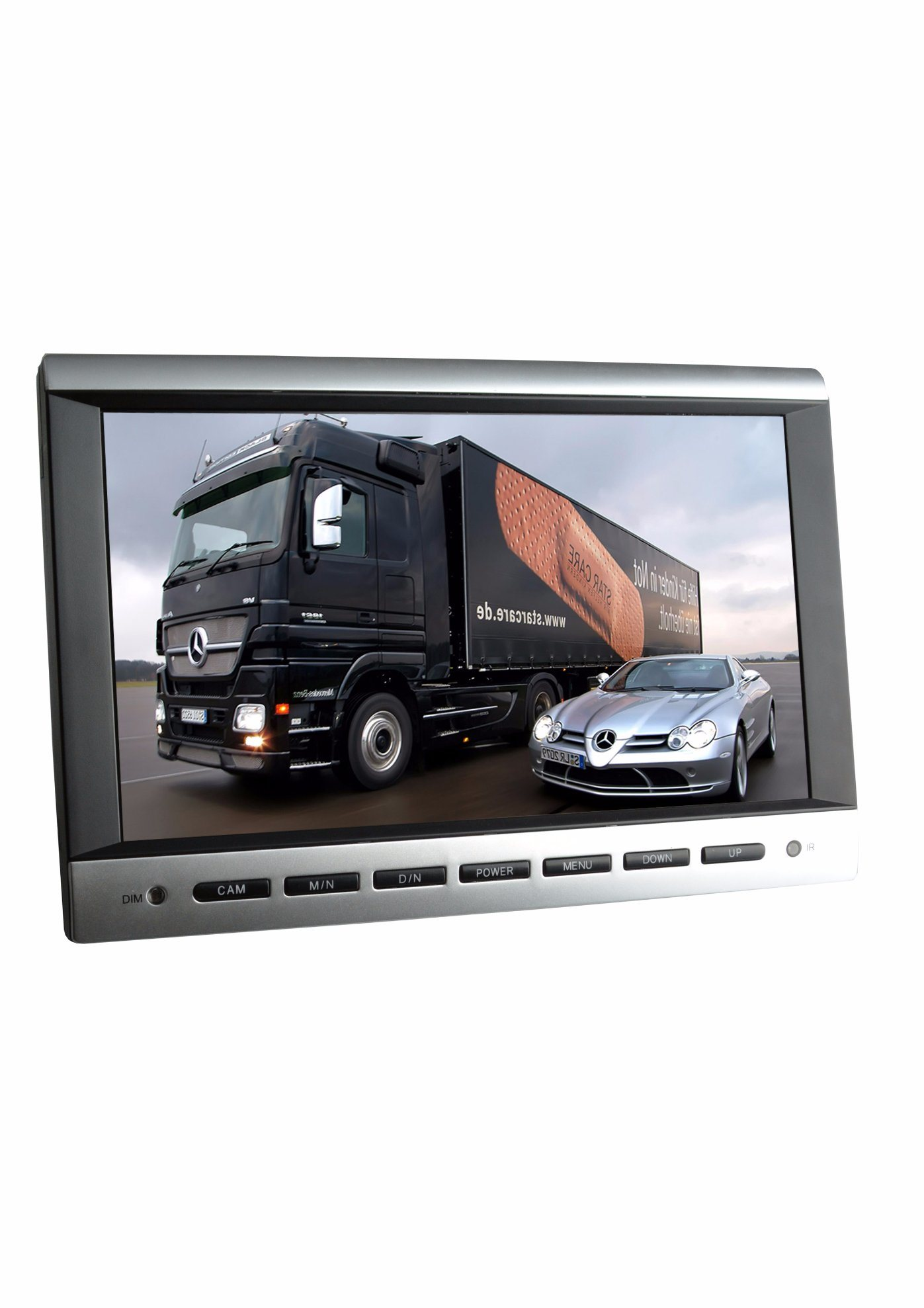 10 Inch Truck Rearview System with 2 CH Input Camera