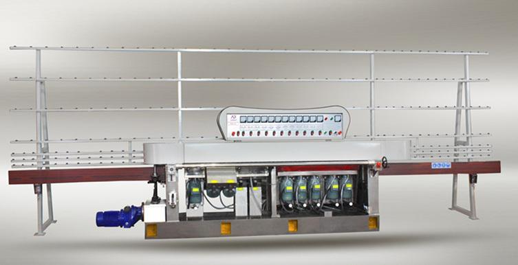 10 Motors 45 Glass Straight Line Edging Machine