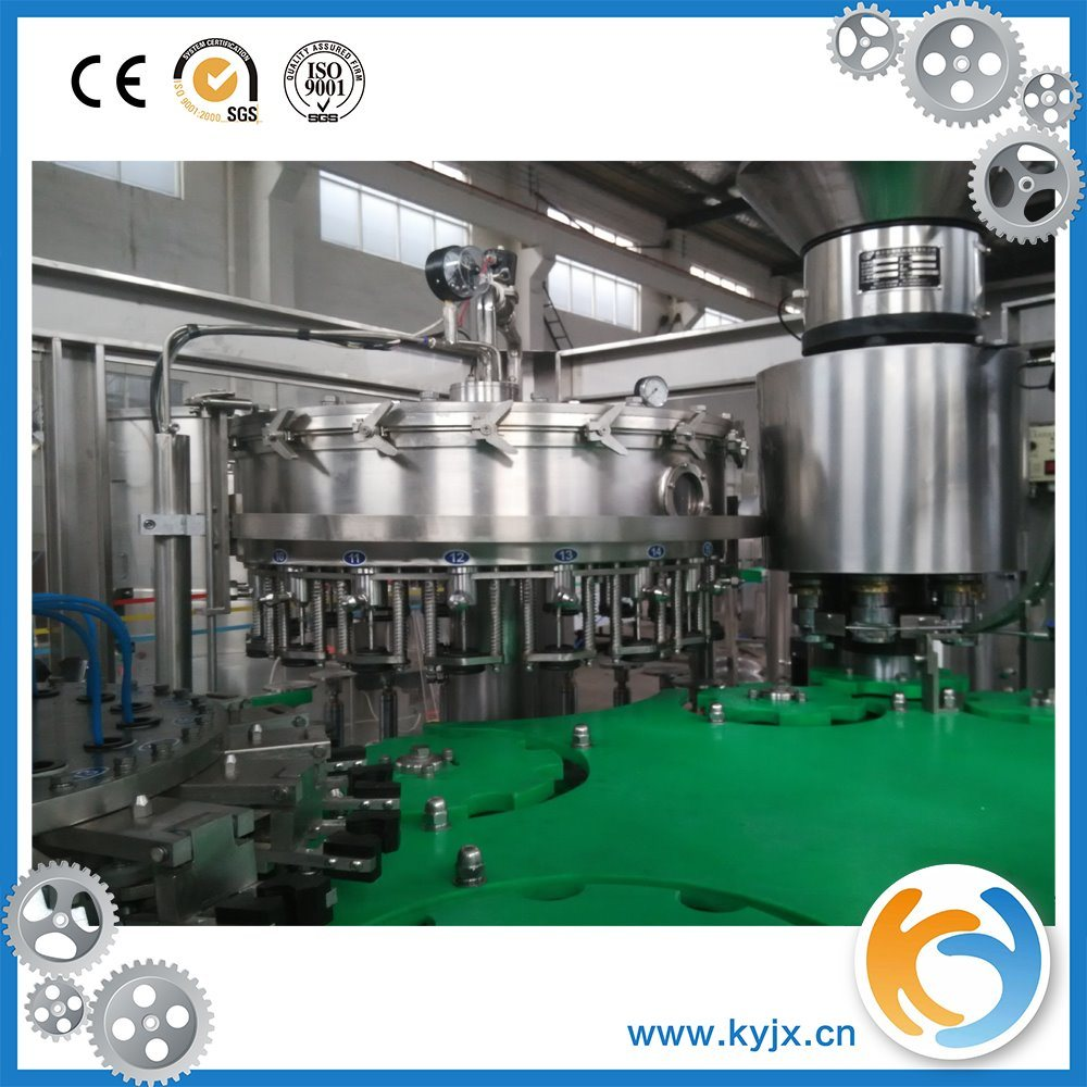 Carbonated Beverage Filling Machine/Soft Drink Production Line
