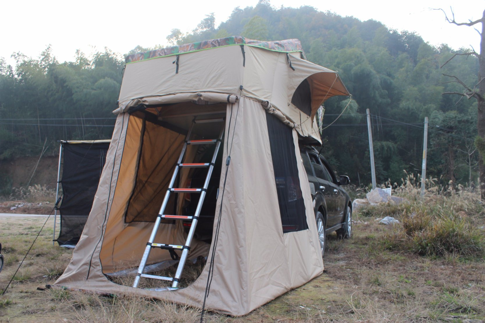 Hot Sale Roof Top Tent with Annex Awning