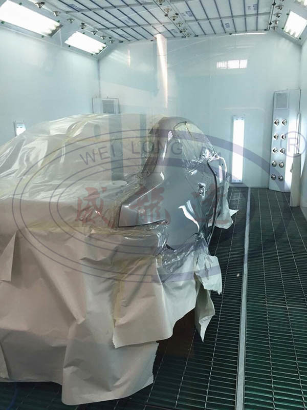 Wld8400 High Quality Downdraft Water Based Car Body Spray Painting Booth/Auto Spray Paint Booth