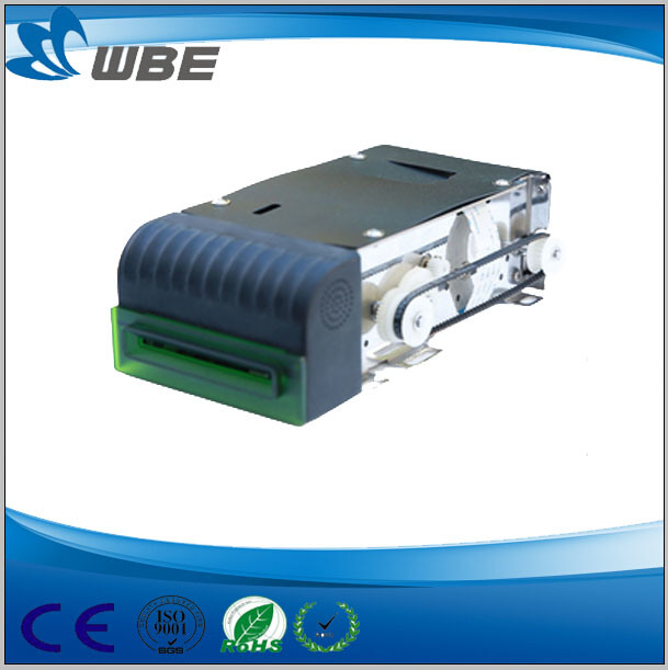 Motorized Card Reader for Payment Kiosk