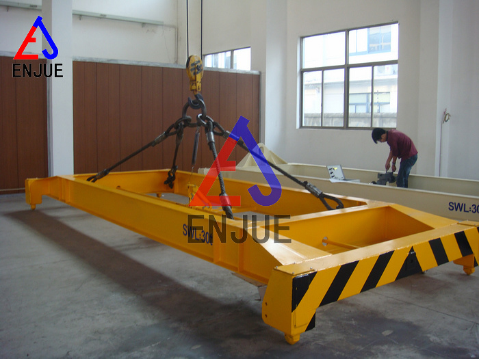 Semi-Automatic Container Spreaders, Mechanical Spreader for 20/40FT Container