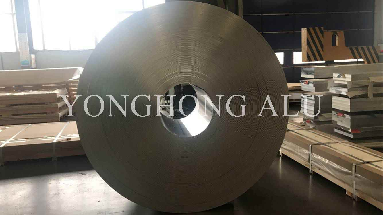 Hot Rolling 1050 1070 5754 8011 F Aluminum Coil Italy