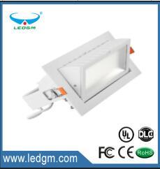 2017 SMD 5630 Rectangular LED Downlight/Recessed LED Ceiling Lights/LED Recessed Down Light 20W 30W 20W 50W 60W 40W 45W