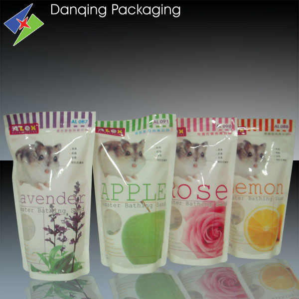 Plastic Double Gusset Milk Packaging Bag