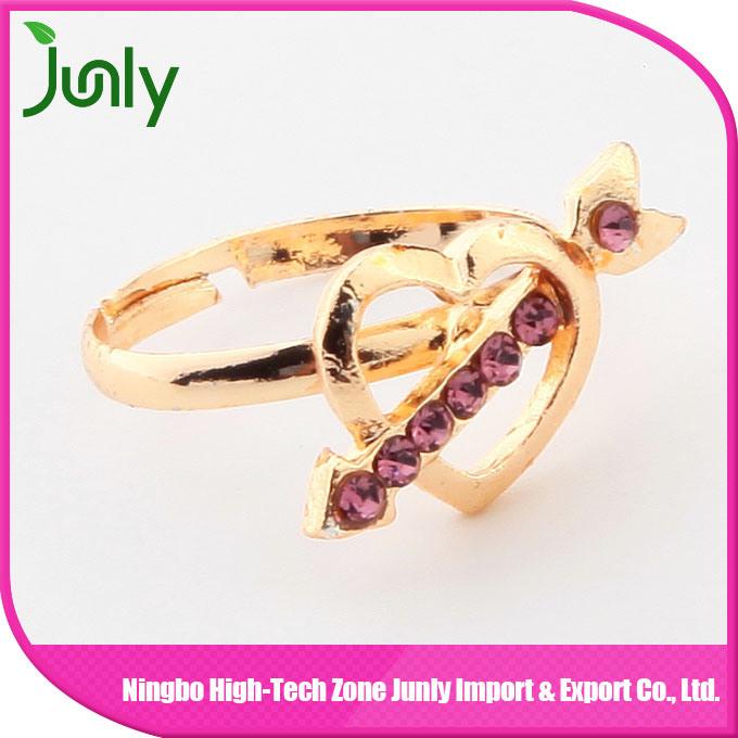 Heart Shaped Ring Designs for Girls Latest Model Ring