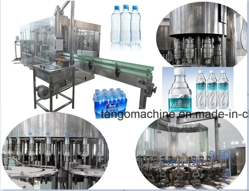 Packaged Drinking Pure Water Filling Packing Machine for 24-24-8