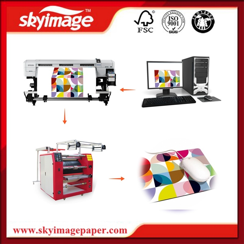 Multifunctional Fy- Rpm80cm*1.2m Width Ribbon Sublimation Rotary Heat Press Machine for Mobile Lanyard