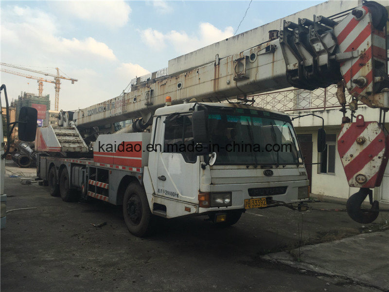 Used 25ton Zoomlion Mobile Truck Crane Qy25h