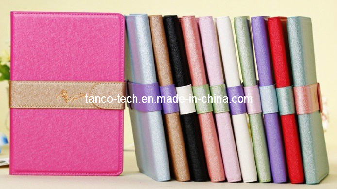 Gorgeous Genuine Leather Cover Case for iPad Air, Flip Leather Case