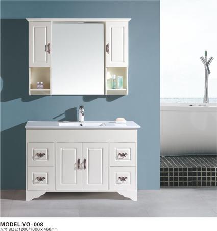 china solid wood bathroom vanity yq008 china solid