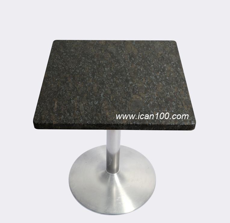Manufacturer of Natural Granite Tables Restaurant Furniture (ST-405)