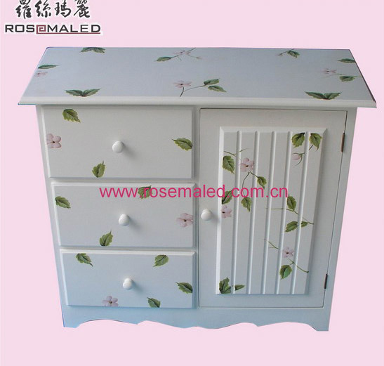 China Antique Hand Painted Furniture Cabinet R123 1