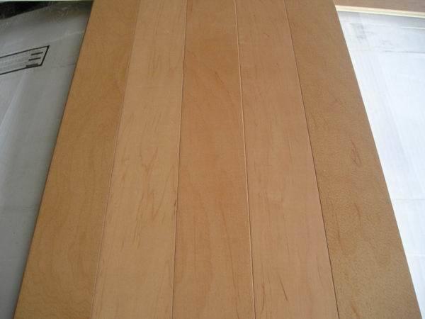 Engineered Flooring Chinese Maple China Engineered Wood