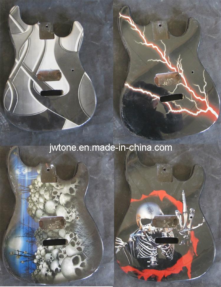 Electric Guitar Stencil Stencil Plate Guitar Body jw
