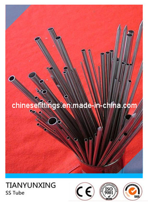 Tube Pipe Stainless Steel Ss304 Ss316 Polished Capillary