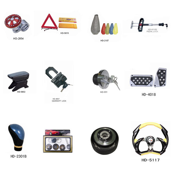 Car Accessories Showroom