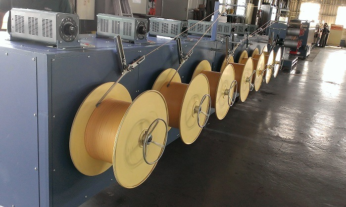 Extruder for Weft Yarn
