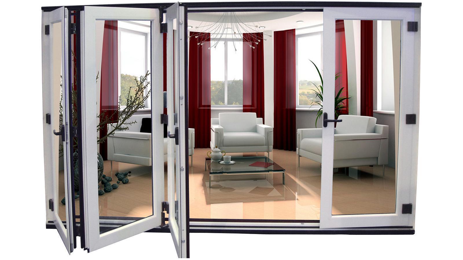 Bifold door aluminium bifold door prices for Aluminium folding doors