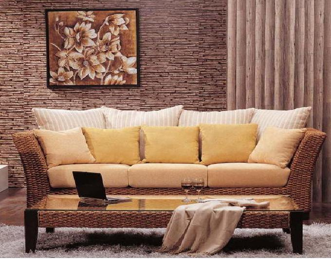 China Europe Style Rattan Furniture Sofa Sets Sr 017