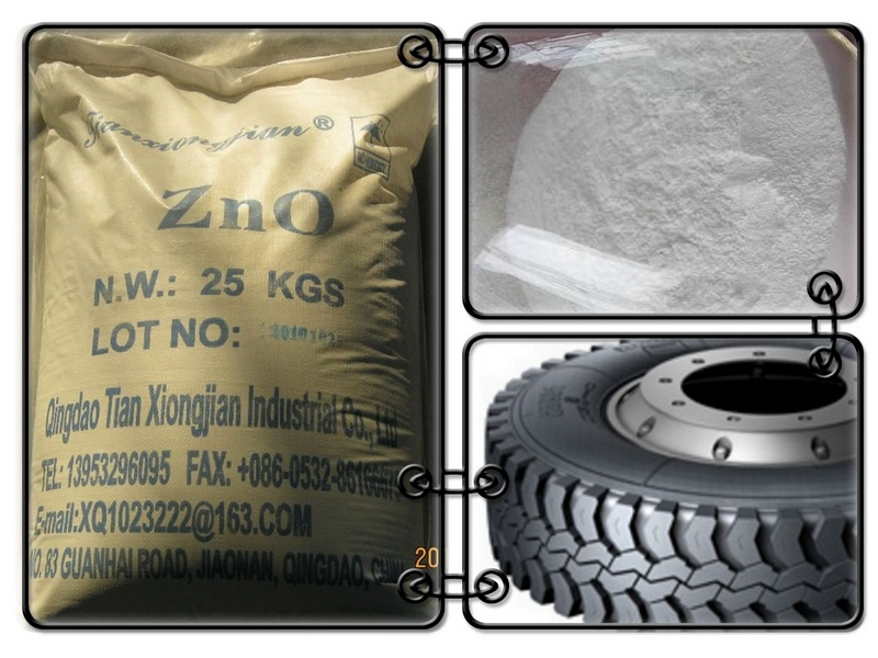 Zinc Oxide Nanometer Grade for Milling Rubber