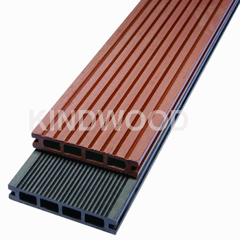 China wood plastic composite decking hd237 china for Plastic composite decking