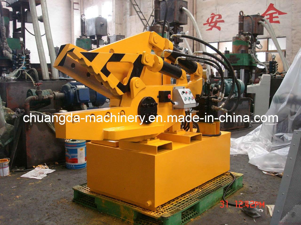 Hydraulic Cutting Machine with Metal (Q08-63)