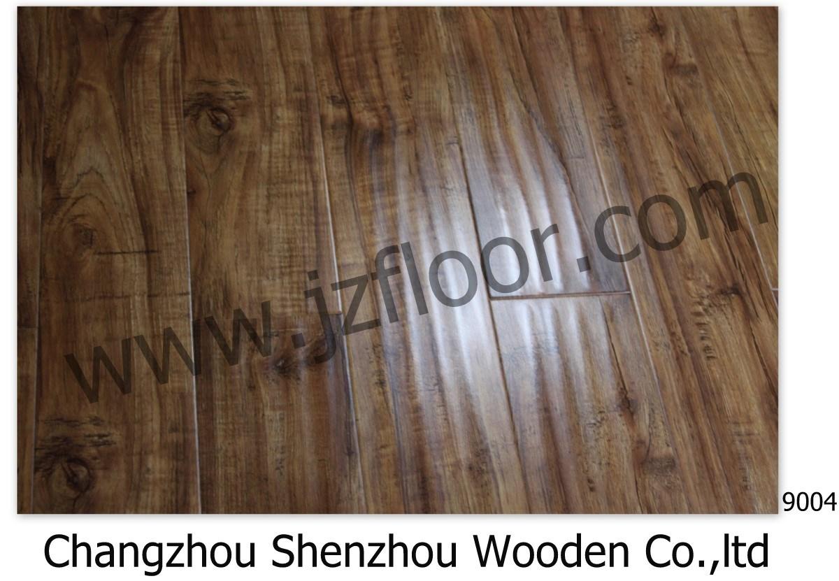 Mdf Wood Flooring : China mdf hdf laminate flooring