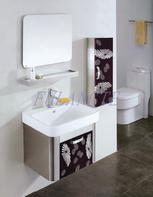 cabinet vanity 8054 china stainless steel bathroom cabinet