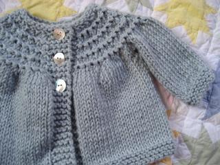 Free Baby Sweater Knitting Patterns - Marshmellow Party Dress