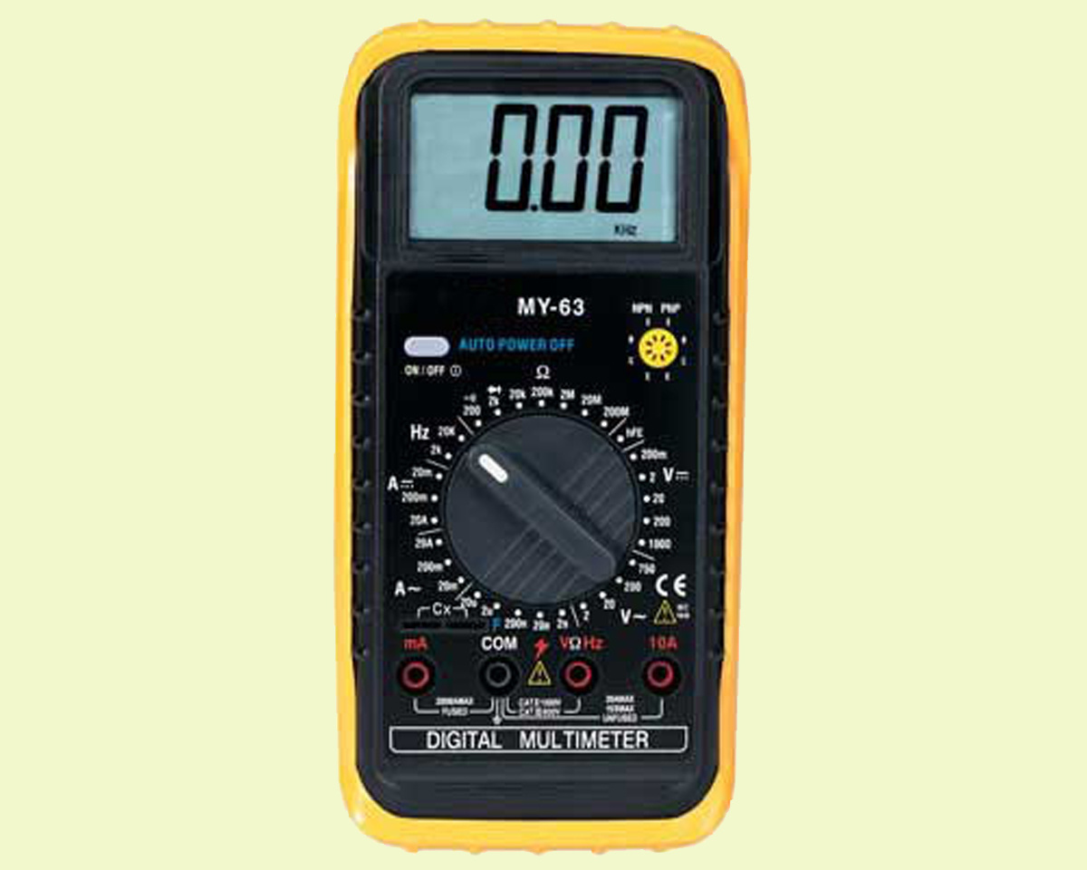 China Digital Multimeter (MY-63) - China Electronic ...