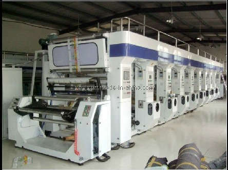 High Speed Rotogravure Printing Machine (ASY-Z)