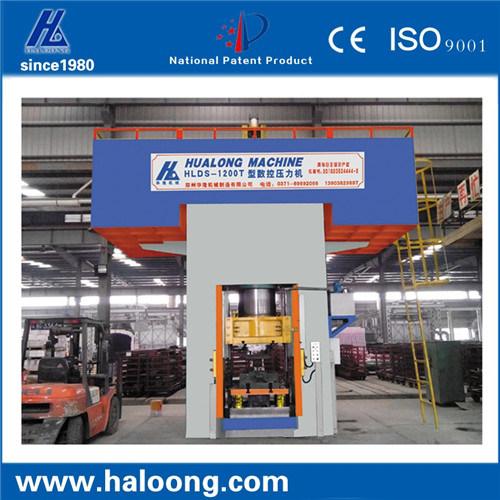 800 Ton Static Type Enery Saving 60% Power Press Machine