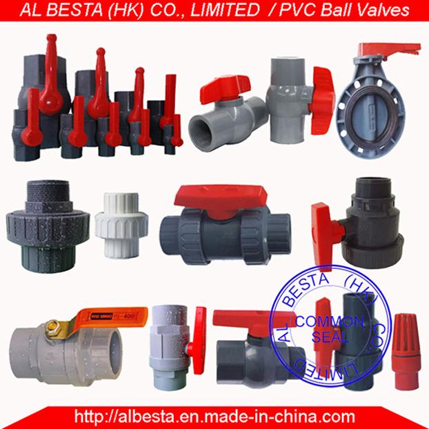 PVC Ball Valve (ANSI, DIN, BS, CNS, JIS standard)