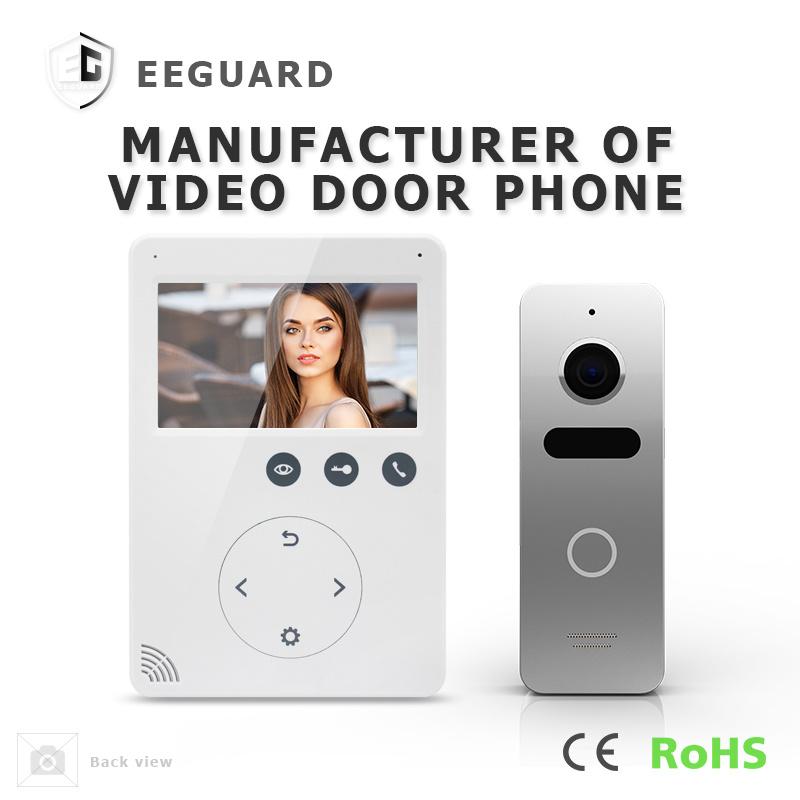 Home Security Interphone 4.3 Inches Intercom Video Door Phone