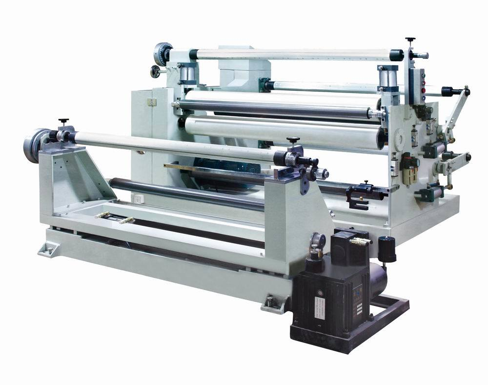 Jumbo Roll Silicon Tape and Foam Slitting Laminating Machine