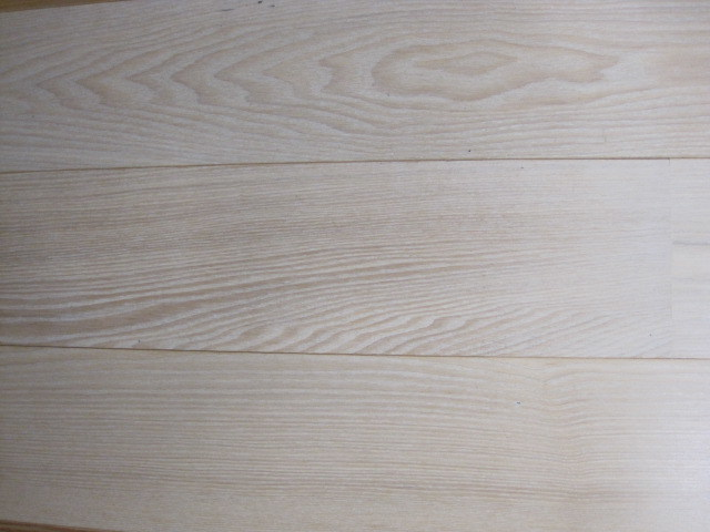 China Ash Flooring Brushed And White Stained China Ash