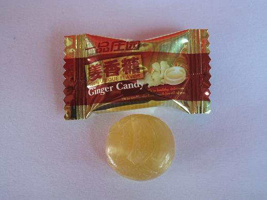 Ginger Hard Candy - China Candy, Ginger Hard Candy