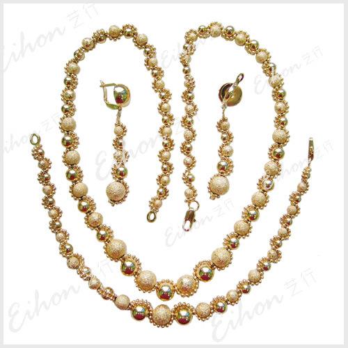 18k gold jewelry: