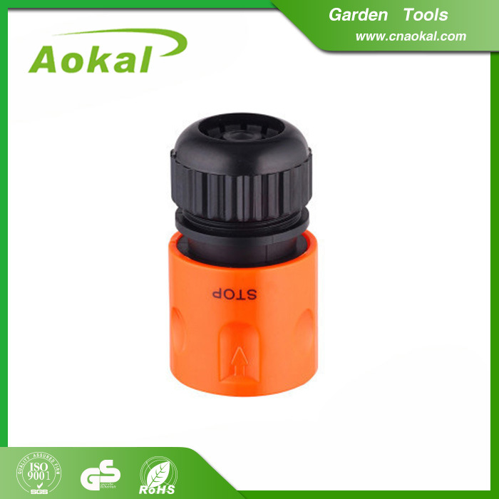 """Hose Rotating Connector Plastic Fitting 1/2"""" Hose Connector with Stop"""
